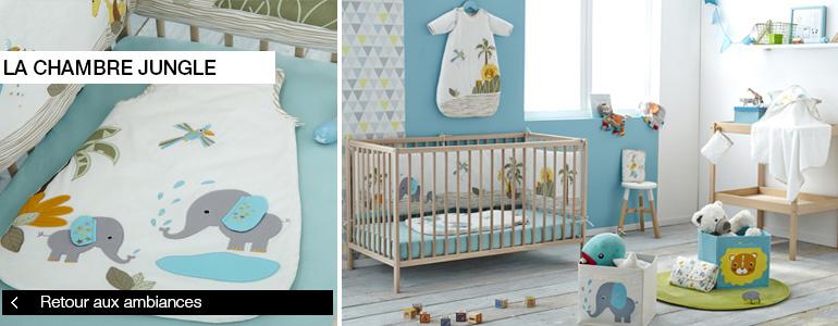 chambre jungle b b kiabi. Black Bedroom Furniture Sets. Home Design Ideas
